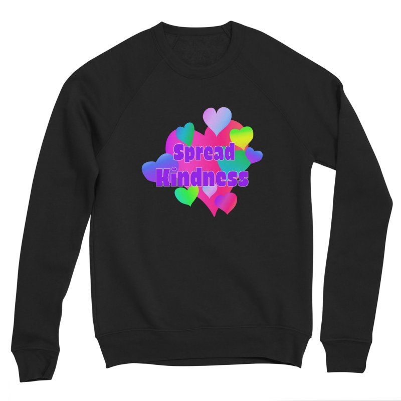 Spread Kindness - Apparel Women's Sponge Fleece Sweatshirt by buxmontweb's Artist Shop