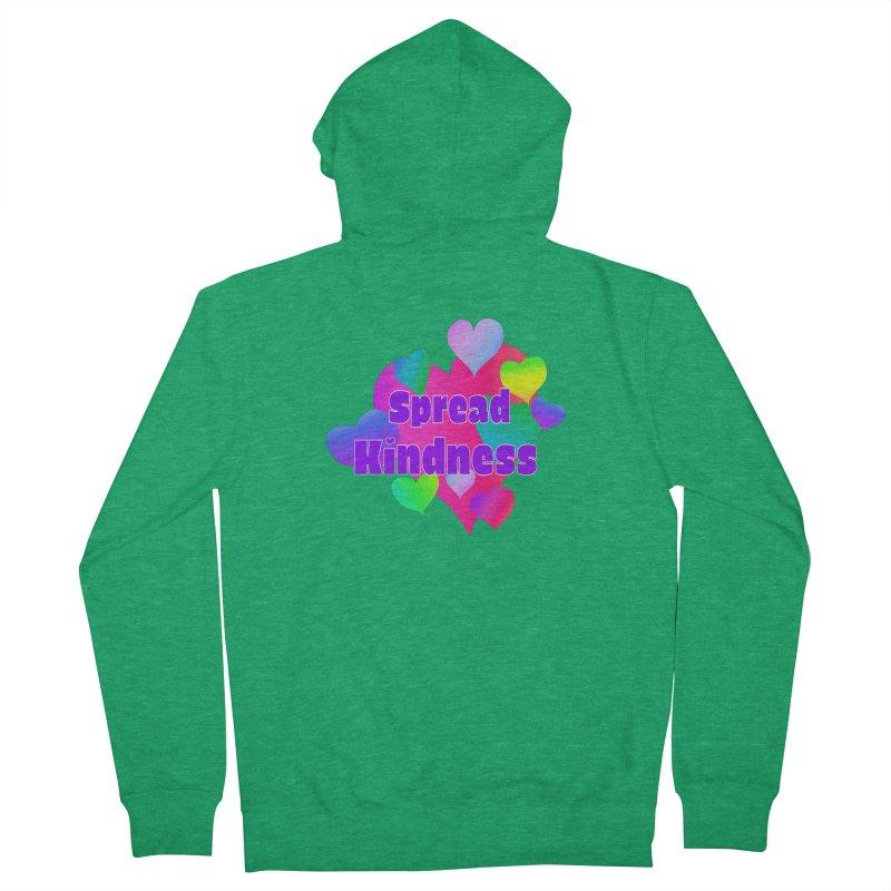 Spread Kindness - Apparel Men's Zip-Up Hoody by buxmontweb's Artist Shop