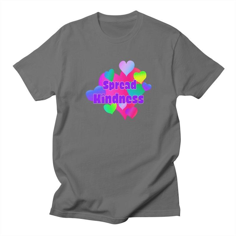 Spread Kindness - Apparel Men's T-Shirt by buxmontweb's Artist Shop