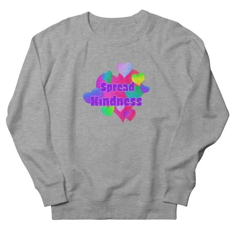 Spread Kindness - Apparel Women's French Terry Sweatshirt by buxmontweb's Artist Shop
