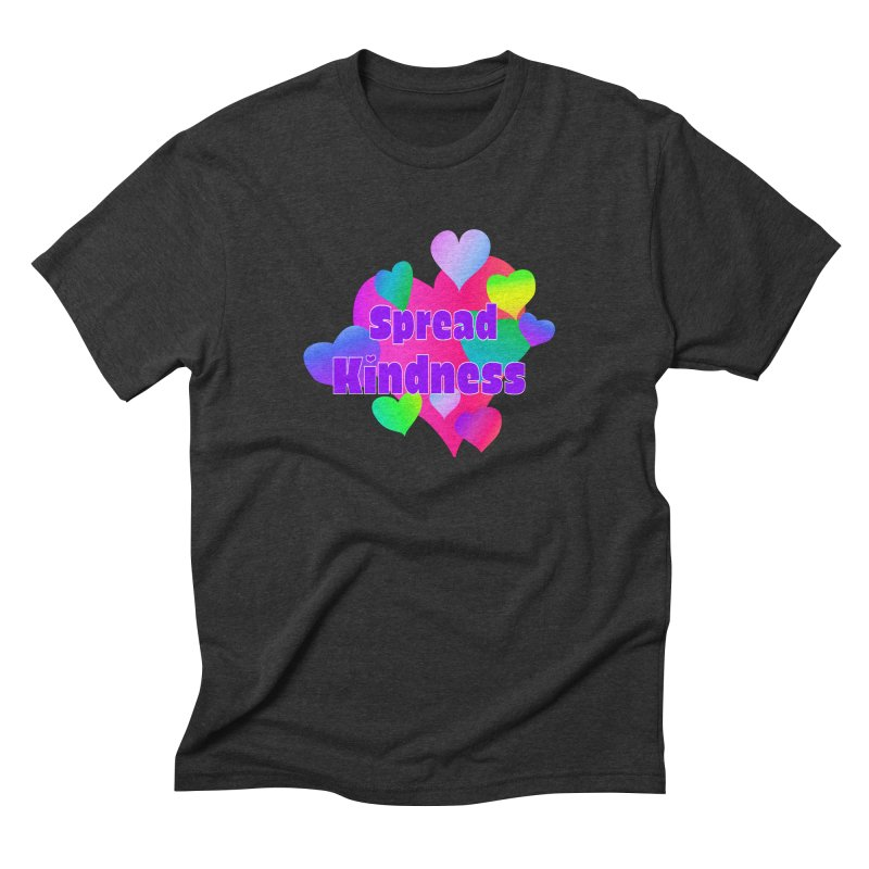 Spread Kindness - Apparel Men's Triblend T-Shirt by buxmontweb's Artist Shop