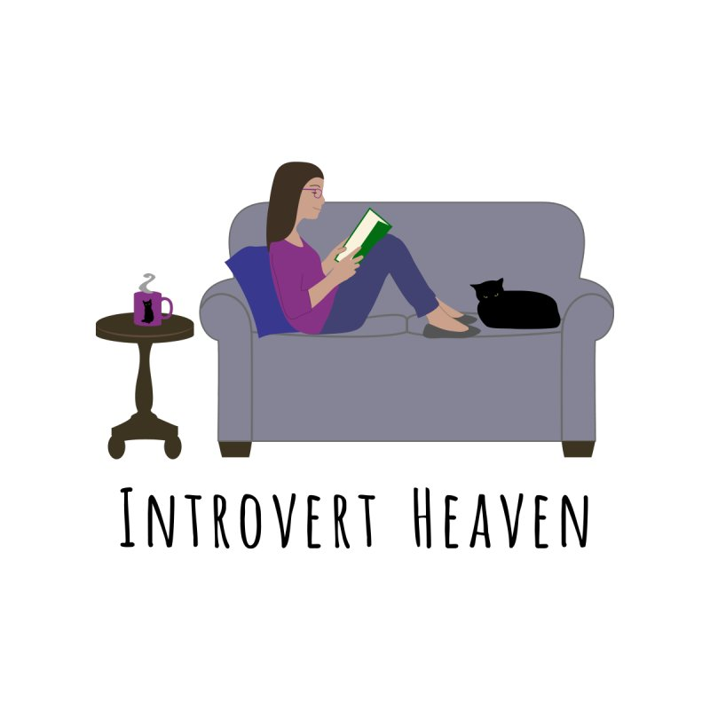 Introvert Heaven - Light Background by buxmontweb's Artist Shop