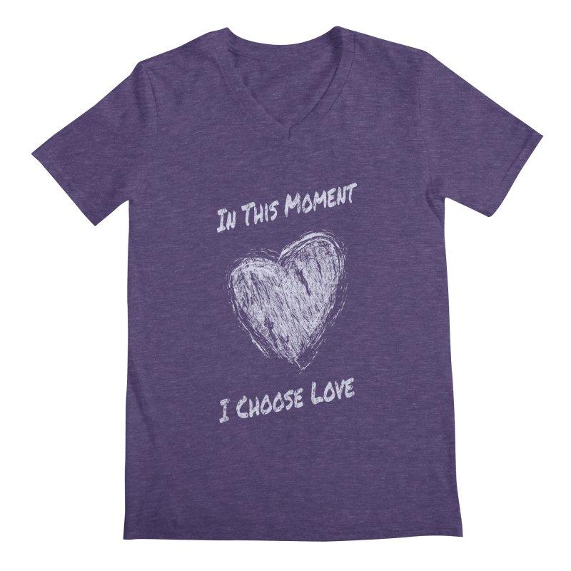I Choose Love Men's V-Neck by buxmontweb's Artist Shop