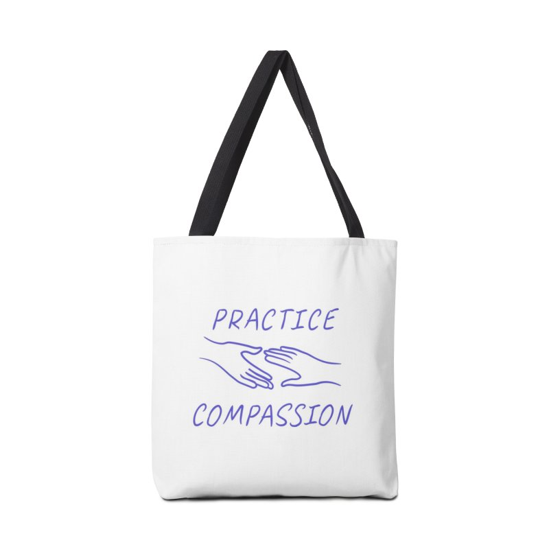 Compassion - Light Background Accessories Bag by buxmontweb's Artist Shop