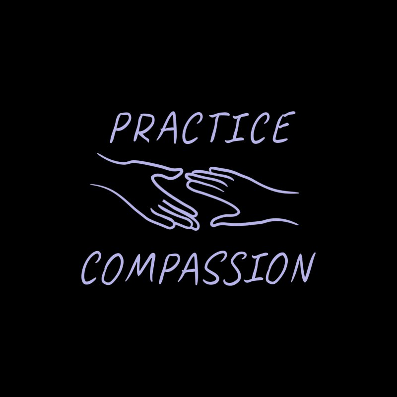 Compassion - Dark Background by buxmontweb's Artist Shop