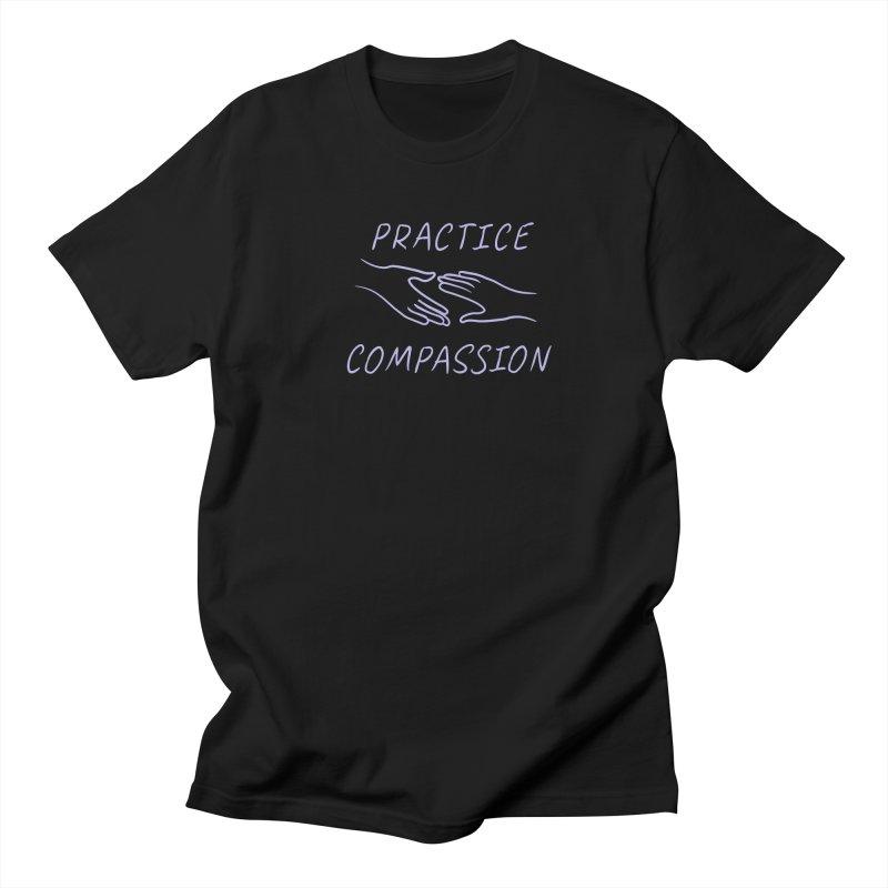 Compassion - Dark Background Women's Regular Unisex T-Shirt by buxmontweb's Artist Shop