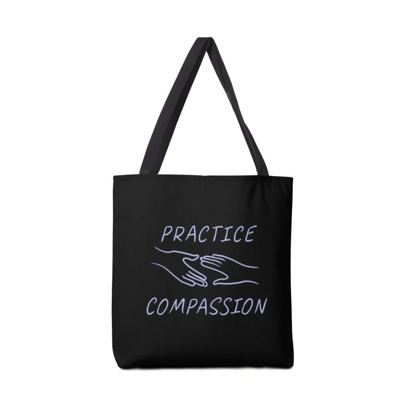 Compassion - Dark Background Accessories Tote Bag Bag by buxmontweb's Artist Shop