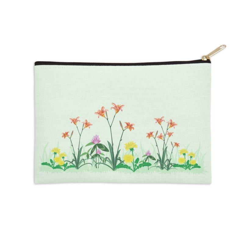 Wildflowers - Accessories Accessories Zip Pouch by buxmontweb's Artist Shop