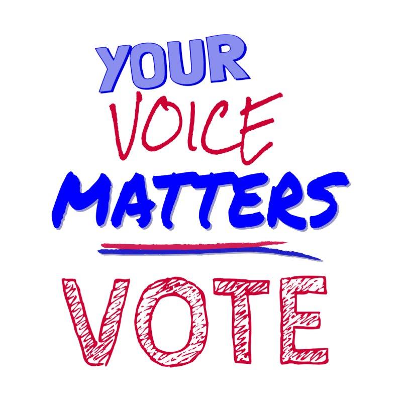 Your Voice Matters - VOTE Men's T-Shirt by buxmontweb's Artist Shop