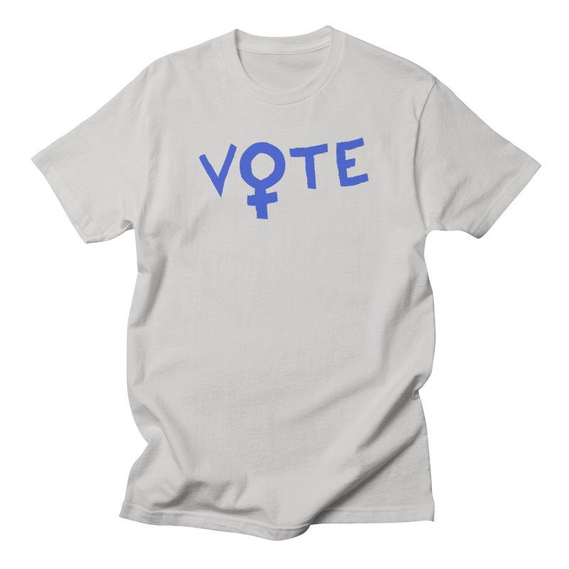 VOTE Women - Word Art (Light) Women's T-Shirt by buxmontweb's Artist Shop