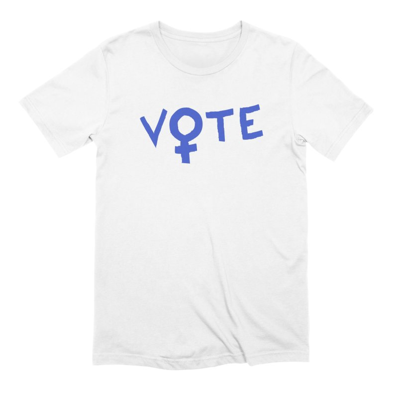 VOTE Women - Word Art (Light) Men's Extra Soft T-Shirt by buxmontweb's Artist Shop