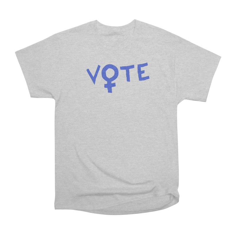 VOTE Women - Word Art (Light) Women's Heavyweight Unisex T-Shirt by buxmontweb's Artist Shop