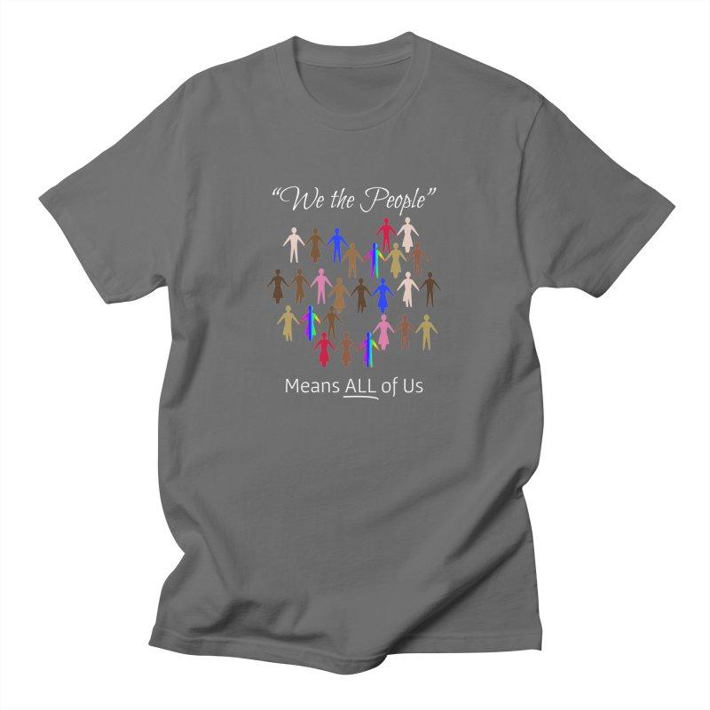 We the People (Dark Background) Women's T-Shirt by buxmontweb's Artist Shop