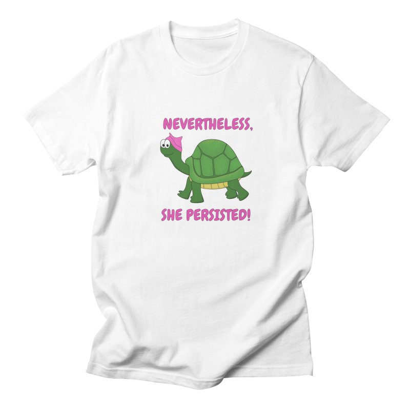 Nevertheless, She Persisted - Turtle Men's Regular T-Shirt by buxmontweb's Artist Shop