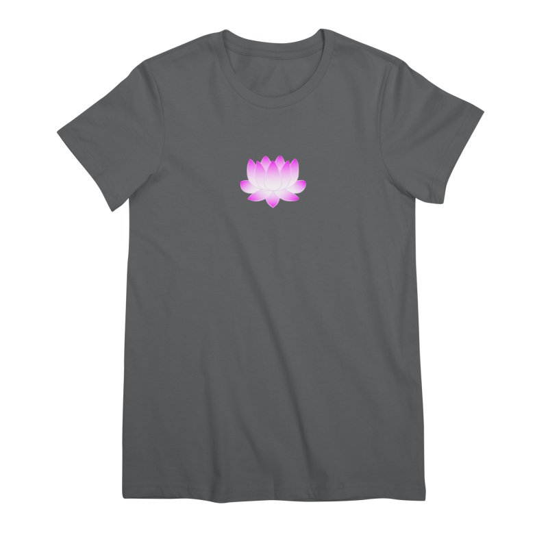 Pink Lotus Flower Women's T-Shirt by buxmontweb's Artist Shop