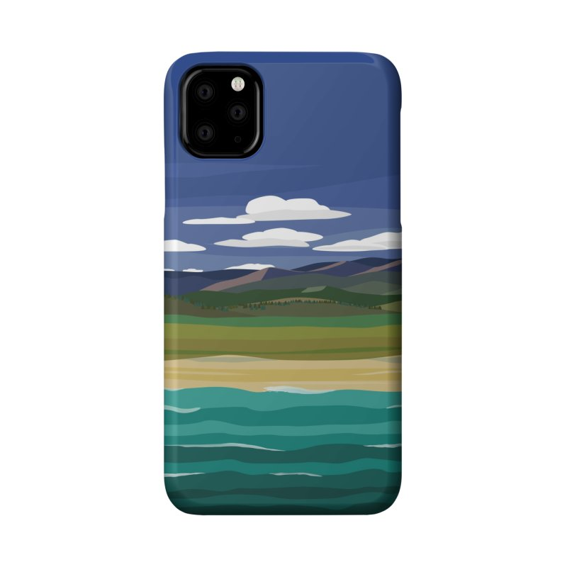 Layered Landscape Accessories Phone Case by buxmontweb's Artist Shop
