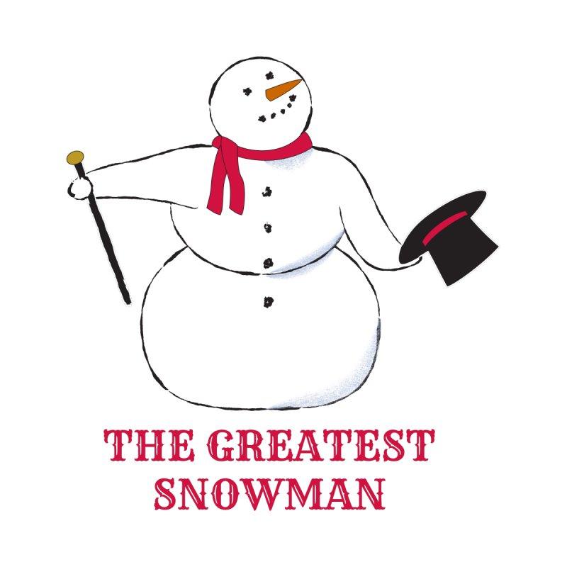 The Greatest Snowman Men's Longsleeve T-Shirt by buxmontweb's Artist Shop