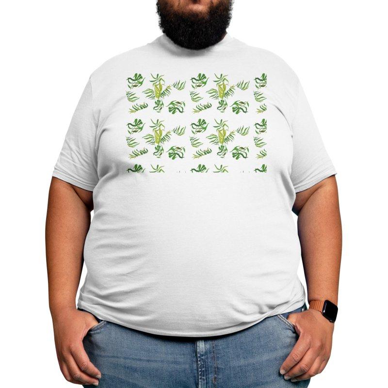 Leafy Bamboo Men's T-Shirt by buyerinfichter's Artist Shop