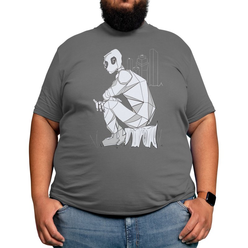 Robot Reflections Men's T-Shirt by buyerinfichter's Artist Shop