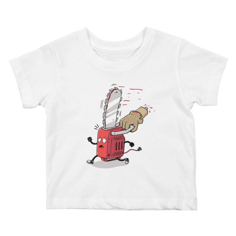 Better run Kids Baby T-Shirt by buyodesign's Artist Shop