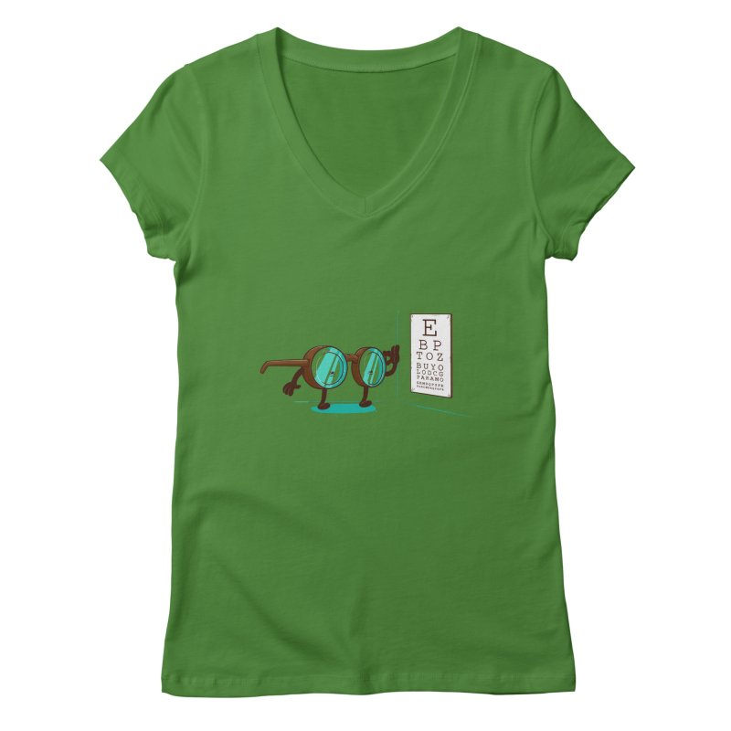 Casimiro Women's V-Neck by buyodesign's Artist Shop