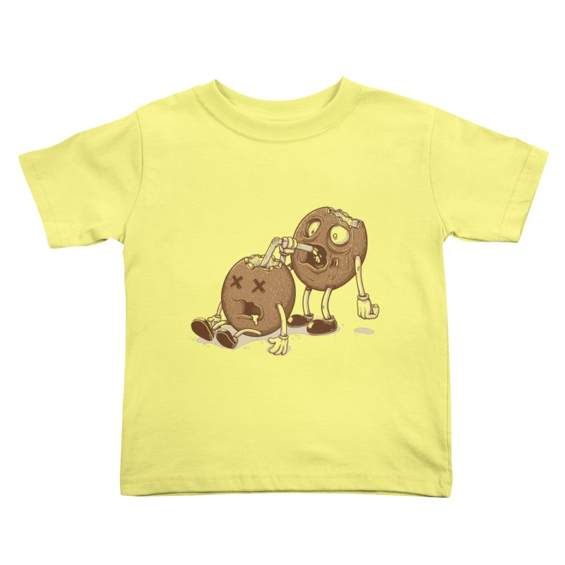 El coco Kids Toddler T-Shirt by buyodesign's Artist Shop