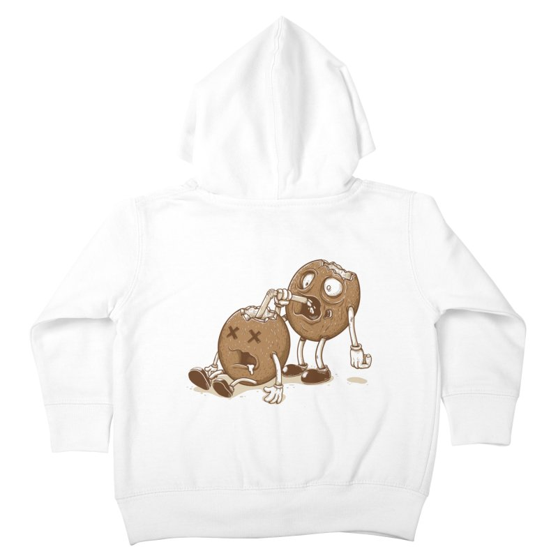 El coco Kids Toddler Zip-Up Hoody by buyodesign's Artist Shop