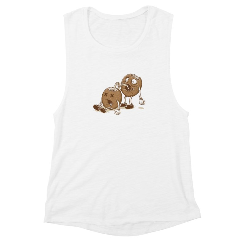 El coco Women's Muscle Tank by buyodesign's Artist Shop