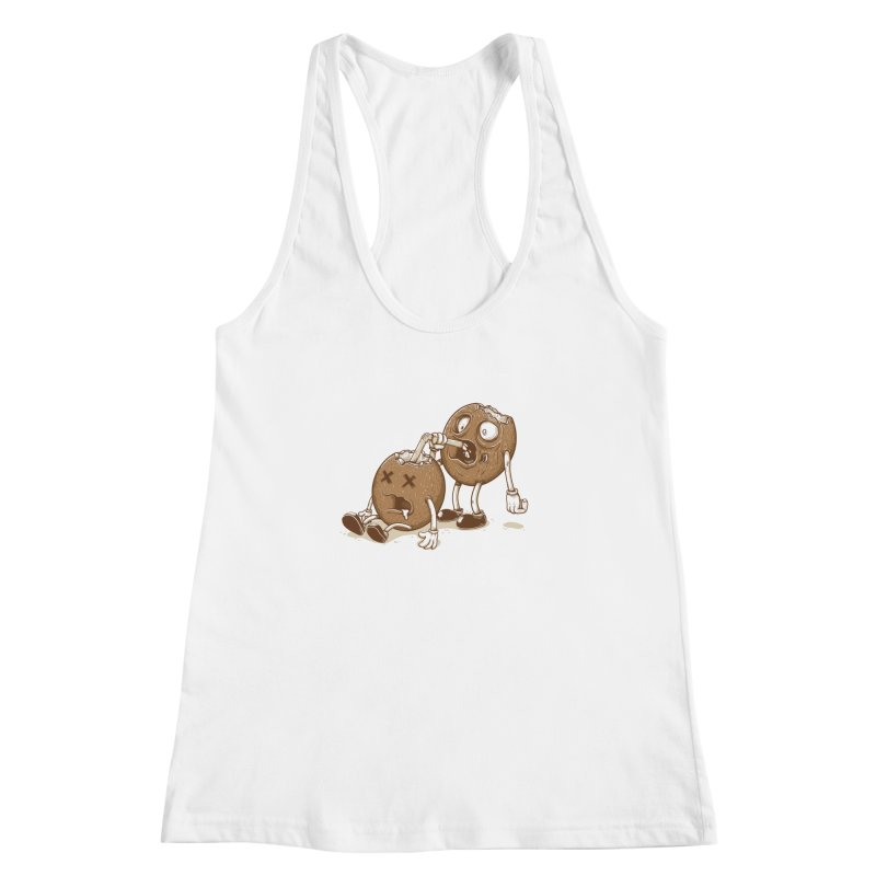 El coco Women's Racerback Tank by buyodesign's Artist Shop