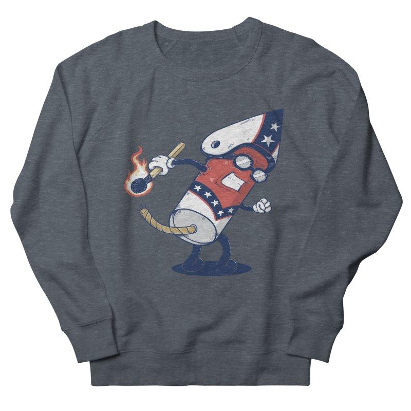 firecracker man Women's Sweatshirt by buyodesign's Artist Shop