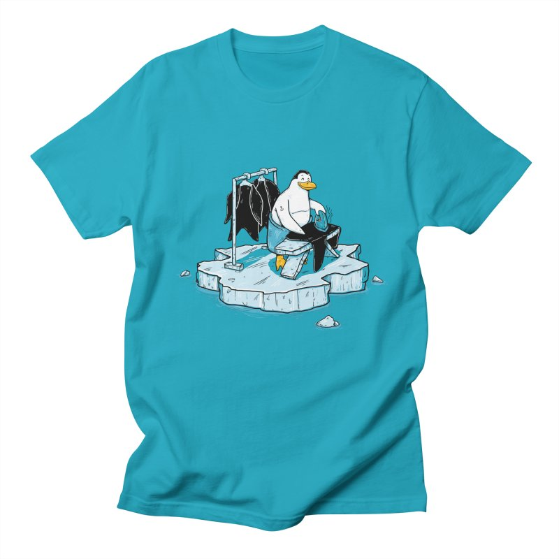 global warming Men's Regular T-Shirt by buyodesign's Artist Shop