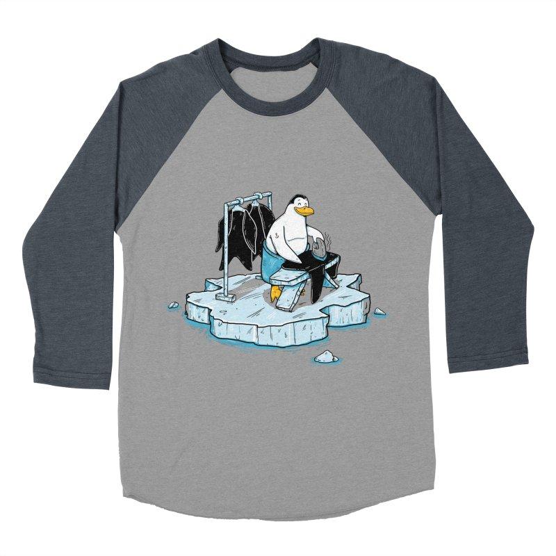 global warming Women's Baseball Triblend Longsleeve T-Shirt by buyodesign's Artist Shop