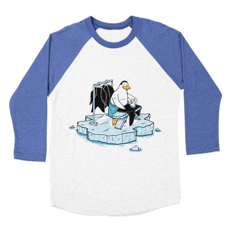 global warming Men's Baseball Triblend T-Shirt by buyodesign's Artist Shop