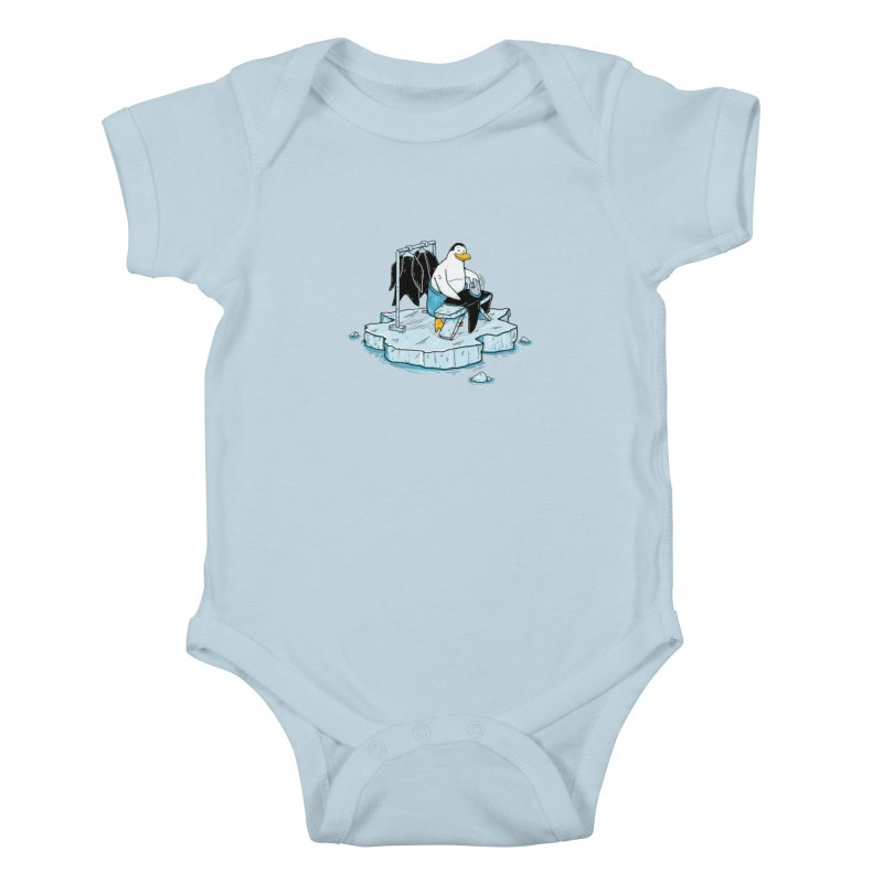 global warming Kids Baby Bodysuit by buyodesign's Artist Shop