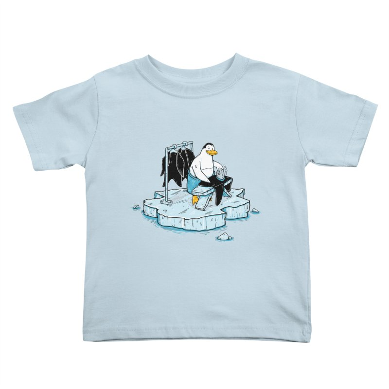 global warming Kids Toddler T-Shirt by buyodesign's Artist Shop
