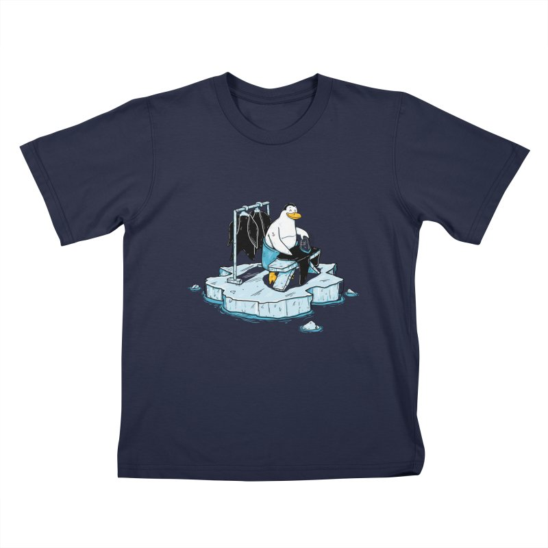 global warming Kids T-Shirt by buyodesign's Artist Shop