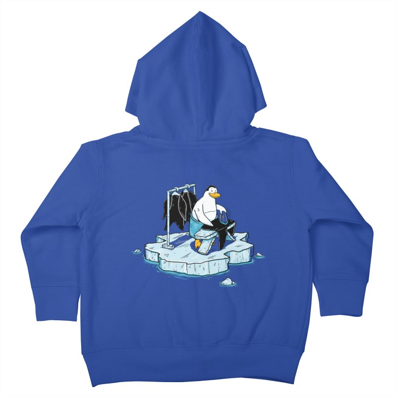global warming Kids Toddler Zip-Up Hoody by buyodesign's Artist Shop