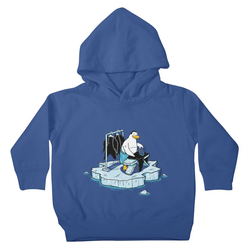 global warming Kids Toddler Pullover Hoody by buyodesign's Artist Shop
