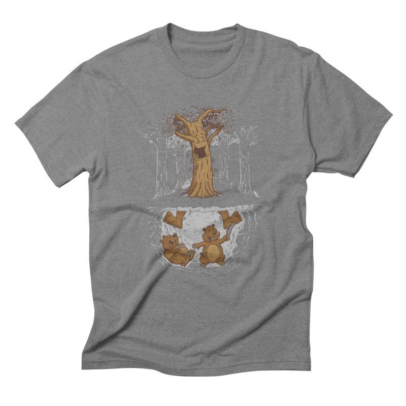 happy feet Men's Triblend T-shirt by buyodesign's Artist Shop