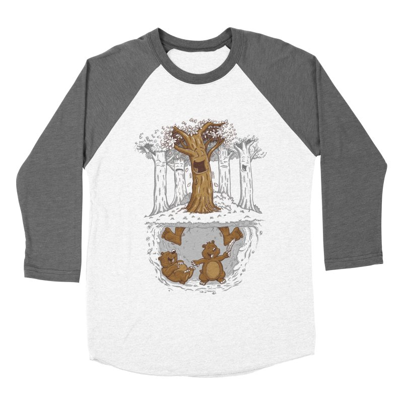 happy feet Men's Baseball Triblend Longsleeve T-Shirt by buyodesign's Artist Shop