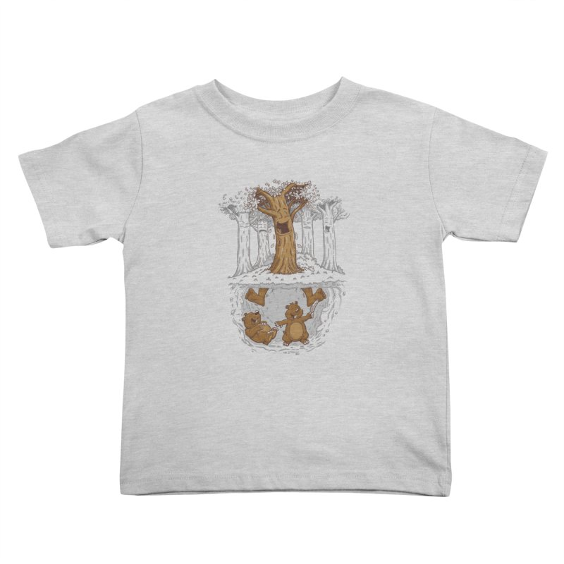 happy feet Kids Toddler T-Shirt by buyodesign's Artist Shop