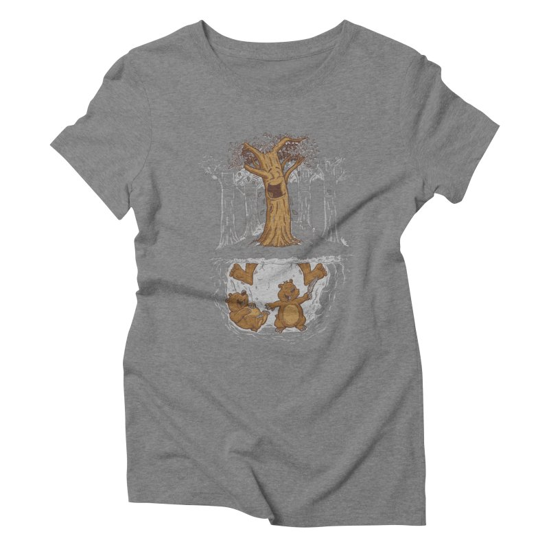 happy feet Women's Triblend T-Shirt by buyodesign's Artist Shop