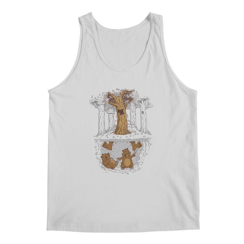 happy feet Men's Regular Tank by buyodesign's Artist Shop