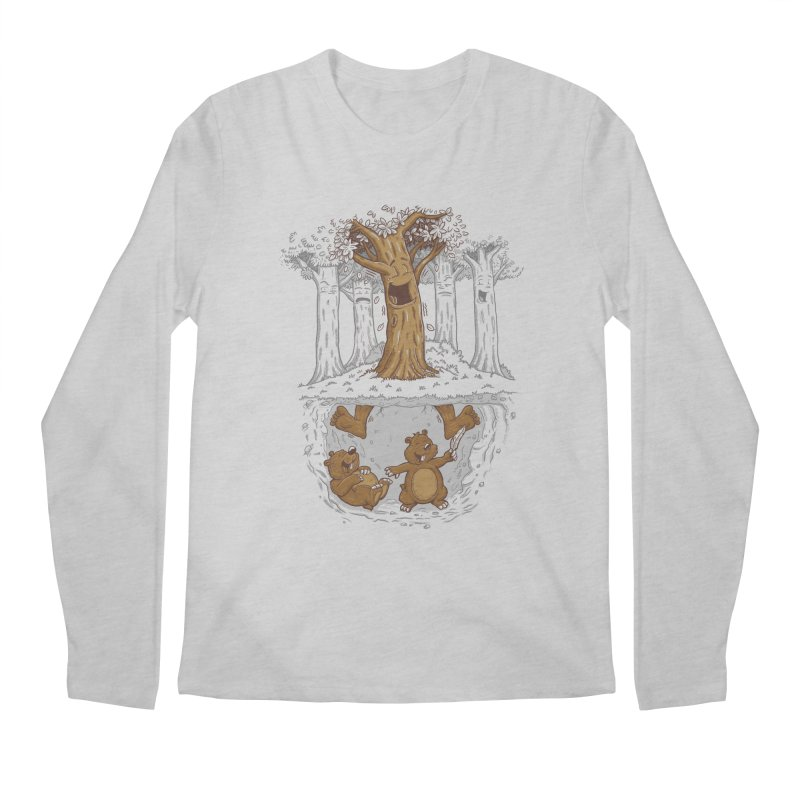 happy feet Men's Longsleeve T-Shirt by buyodesign's Artist Shop