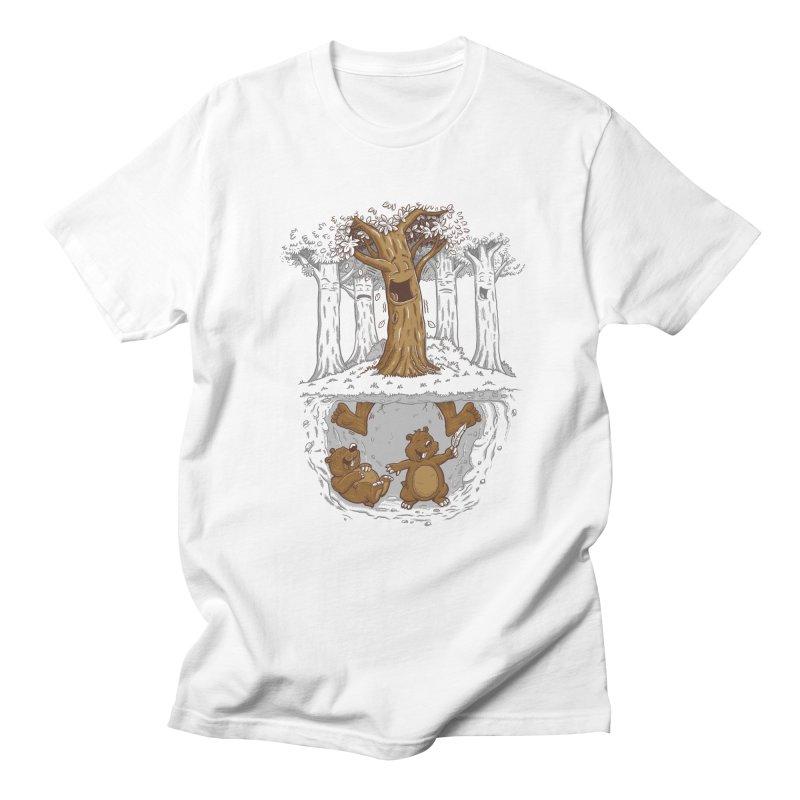 happy feet Men's T-shirt by buyodesign's Artist Shop