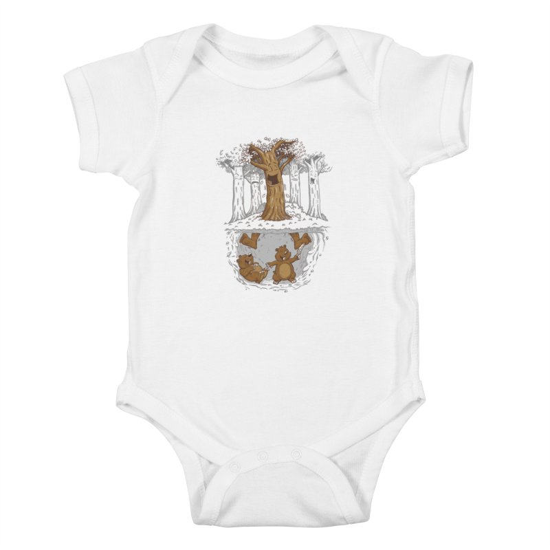 happy feet Kids Baby Bodysuit by buyodesign's Artist Shop