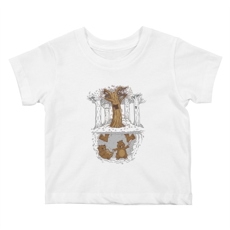 happy feet Kids Baby T-Shirt by buyodesign's Artist Shop