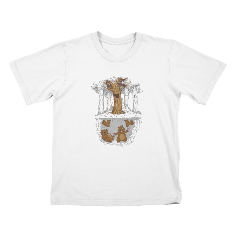 happy feet Kids Toddler T-Shirt by buyodesign's Artist Shop