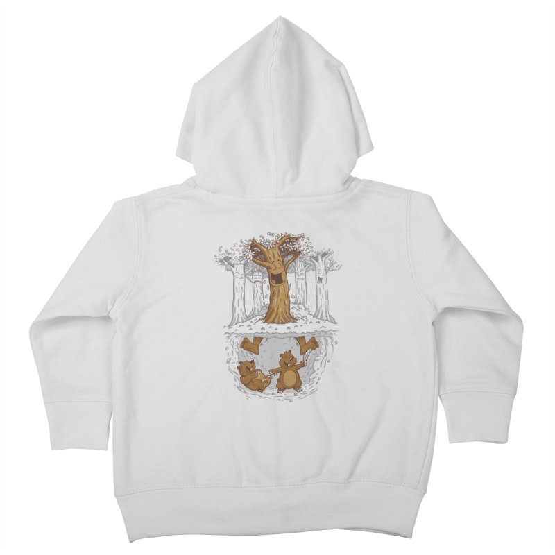 happy feet Kids Toddler Zip-Up Hoody by buyodesign's Artist Shop