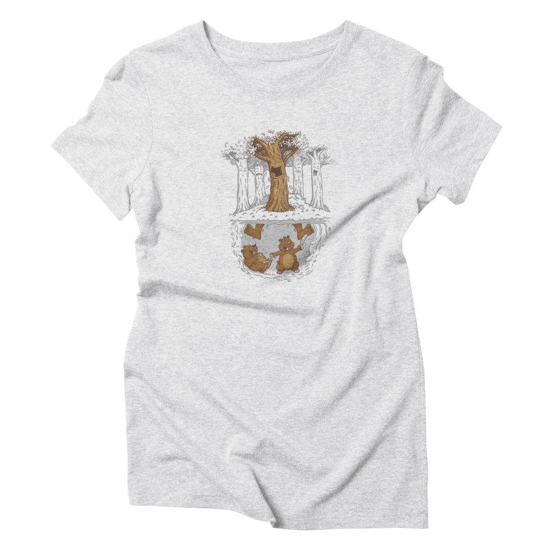 happy feet Women's T-Shirt by buyodesign's Artist Shop